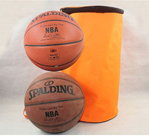 Yo-Yo2015 Volleyball Football Soccer Basketball Sport Waterproof Bag Backpack For 2 Ball (Orange) by Yo-Yo2015