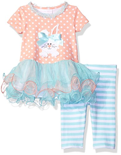 Appliqued Knit Tutu Dress with Legging S - Dress The Easter Bunny Shopping Results