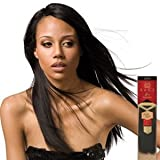 "Milky Way Saga Gold Virgin Remy Human Hair 12"", #1b"