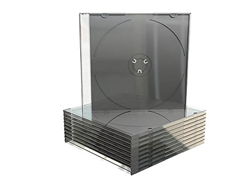 73 opinioni per 100 custodie Mediarange per CD, DVD-R slim 5,2mm