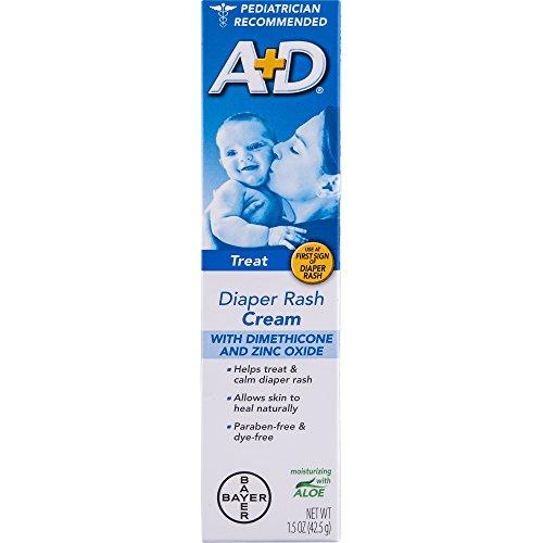 A+D Zinc Oxide Cream, 1.5 Ounce