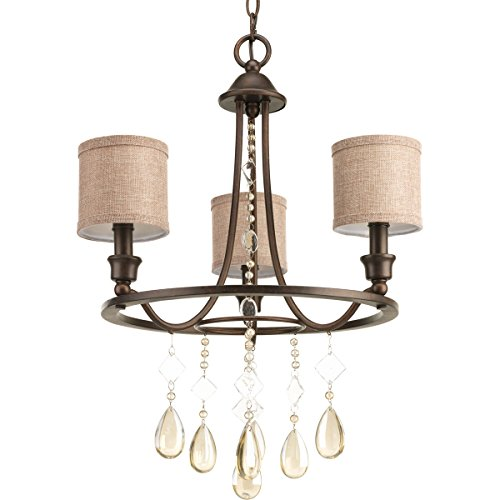 - Progress Lighting 94480372 Flourish 3 Light Chandelier