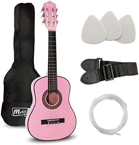 Music Alley Guitarra acústica clásica de niños secundaria, color ...