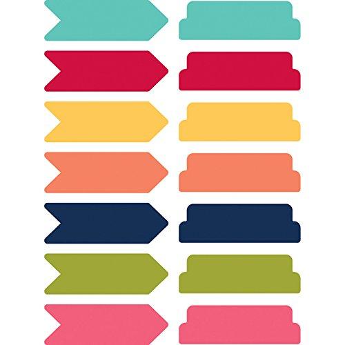 Hampton Art Day 2 Day Planner Sticky Notes 14/Pkg-Arrows & Tabs/7 Colors (Sticky Note Program)