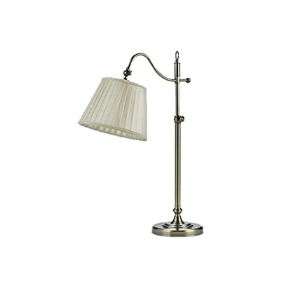 JXXDQ-Lámpara de mesa Lámpara de mesa antigua Bronce Lámpara ...