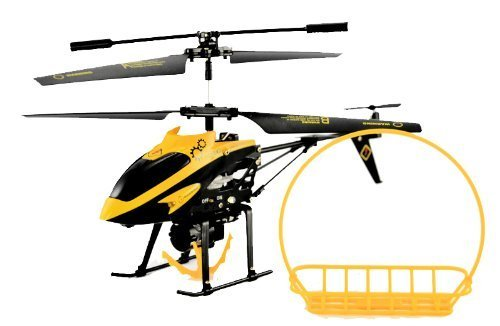 WL 388-B 3.5 Channel Hornet Transport Infrared Rescue Remote Control Helicopter with Gyro, Hook, and Basket