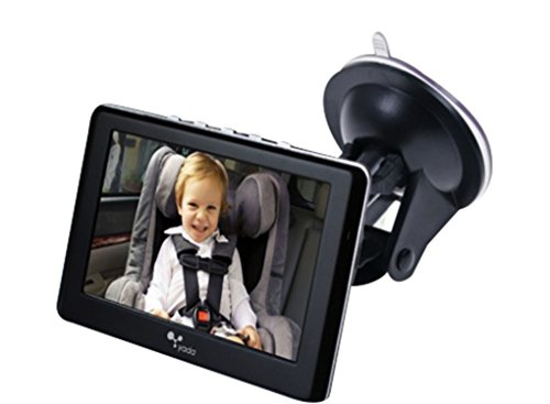 (Yada BT53901F-2 4.3 Inch Tiny Traveler Digital Wireless Baby Matte Black | 4.3