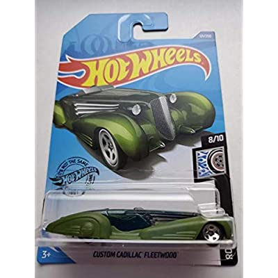 Hot Wheels 2020 Rod Squad Custom Cadillac Fleetwood, Green 121/250: Toys & Games