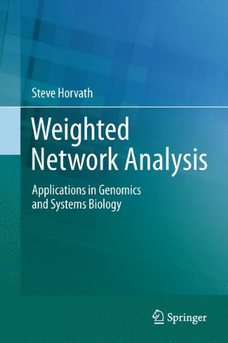 weighted network analysis,systems biology,video review,applications,genomics,(VIDEO Review) Weighted Network Analysis: Applications in Genomics and Systems Biology,