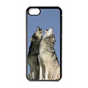 Wolf Brand New Cover Case for Iphone 5C,diy case cover ygtg600610