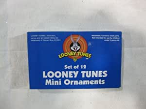 Warner Brothers' Looney Tunes Characters Christmas Tree Ornaments! These Tie Ons Are A Colorful Set Of Twelve (12) Acme Cartoon Buddies. A Fun & Festive Addition To Your Family's Christmas Decorations. Numerous Additional Coordinating Styles, Colors, Shapes And Sizes Are Available.