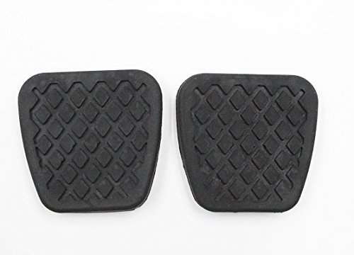 Koauto 2 Brake Clutch Pads Cover for Honda Pedal Rubber Manual Transmission Replacement ()