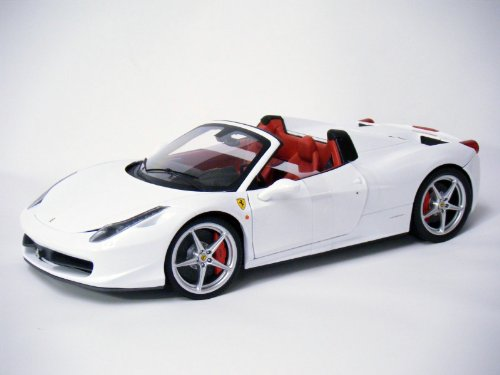 Mattel Elite 1:18 Ferrari 458 Spider ( White) parallel import (18 Mattel Ferrari)
