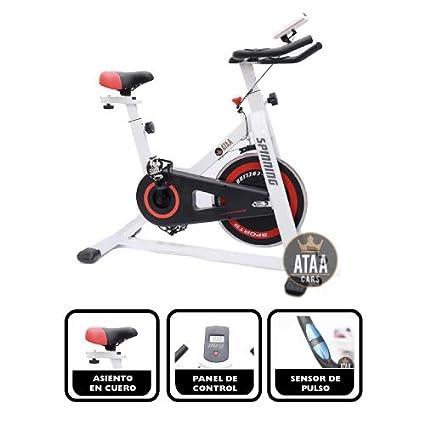 ATAA One Bici Spinning - Bicicleta estática fitness semi profesional