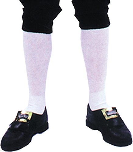 Costumes For All Occasions Bb156 Socks Colonial Mens Pair by Costumes For All Occasions