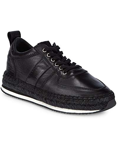 McQ Alexander McQueen Leather Lace-Up Espadrilles, 40