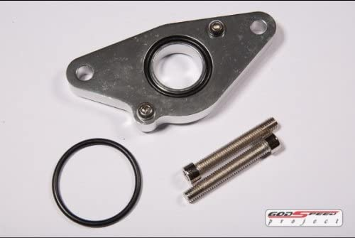 Rs Flange Type Blow Off Valve Adaptor Bolt on for WRX STI Fit Any Greddy Style BOV