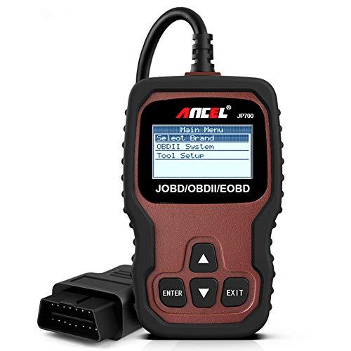 ANCEL JP700 Automotive JOBD Code Reader (Japanese Vehicles) Car OBD2 Scanner Check Engine Light Scan Tool for Read and Erase Fault Codes