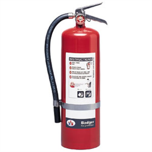 Badger 23781 Extra 10 lb BC Fire Extinguisher w/ Wall Hook