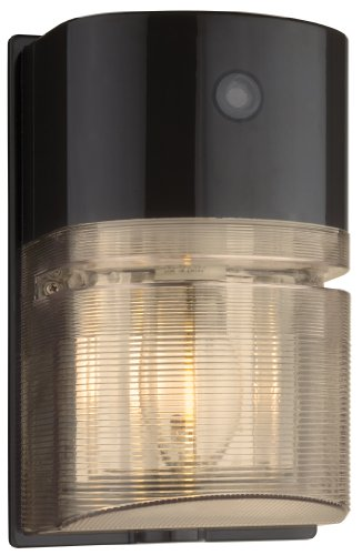 Lithonia Lighting OWP 70S 120 P LP BZ M6 Outdoor 70-Watt High Pressure Sodium Wallpack, Black Bronze