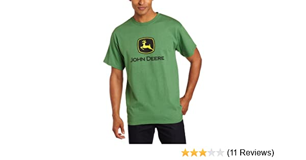 Amazon.com: John Deere Mens Trademark Logo Core Green Short Sleeve Tee-xxxl: Clothing