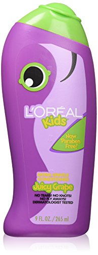 L'Oreal Kids Extra Gentle Grape Conditioner, 9.0 Fluid Ounce (Pack of -