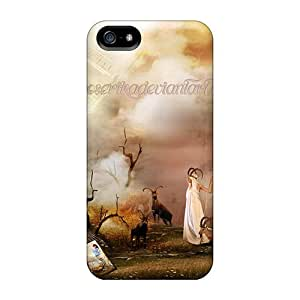 Fashion Design Hard Case Cover/ Lug501-jUf Protector For Iphone 5/5s