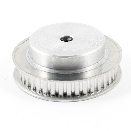uxcell Aluminum Alloy XL Type 40 Teeth 8mm Pilot Bore Screwed Timing Belt Pulley