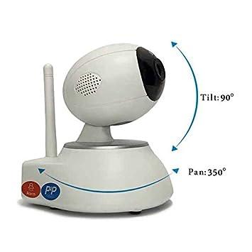 Cámara IP interior Two-way Audio notificaciones Push 1.0 Megapixels Cámara IP de vigilancia video bebés video para mascotas Apps para Iphone/Ipad/Android: ...