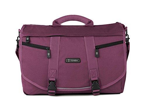 Tenba Messenger Large Photo/Laptop Bag - Plum (638-236) (Messenger Tenba Large Bag)