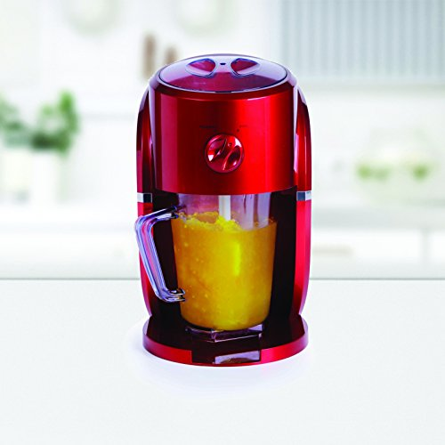 Holstein Housewares HU-09017R-M Frozen Drink Maker - Metallic Red