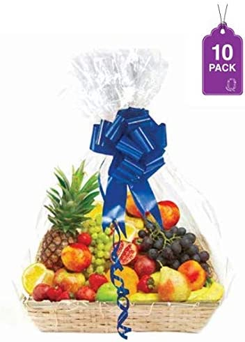 Clear Basket Extra Cellophane Baskets product image