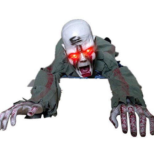 xiangshang shangmao Crawling Baby Zombie Prop Animated Horror Haunted House Party Decoration ()