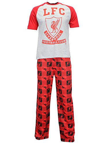 Liverpool Mens Football Club Pajamas Size Large