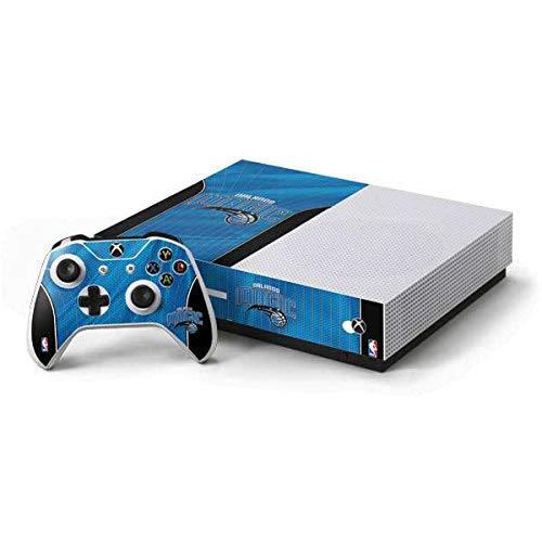 Skinit Orlando Magic Xbox One S All-Digital Edition Bundle Skin - Officially Licensed NBA Gaming Decal - Ultra Thin, Lightweight Vinyl Decal Protection ()