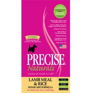 Precise 726033 5-Pack Canine Sensicare Dry Food for Pets, 5-Pound