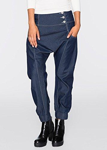 Damen Harems-Jeans, 198381 in Dark Denim