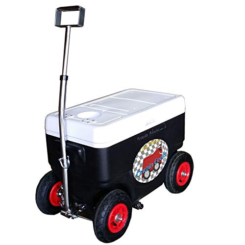 Cruzin Cooler Coolagon Ice Chest on Wheels, 50 Quart