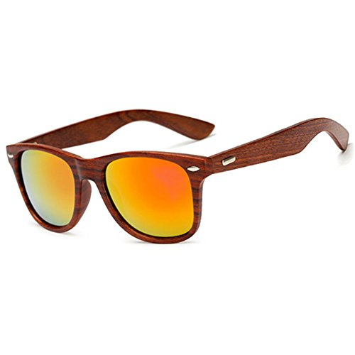 LongKeeper Sunglasses Vintage Wooden Glasses product image