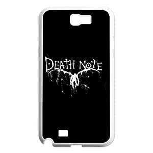 Samsung Galaxy Note 2 N7100 2D PersonDeath Notezed Hard Back Durable Phone Case with Death Note Image