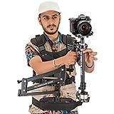 Flowcam 1000 Steadycam Système de stabilisation de l'appareil photo portable avec Flowcam ARM & Vest pour caméras DV DSLR jusqu'à 3,3 lbs (FCSS-FAV)