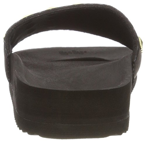 rivet 0000 Pool Scarpe flop Tacco black Col Flip Donna Nero w4qBCPxg