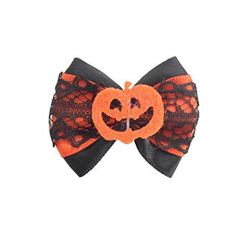 armistore 100PCs Handmade Dog Bow Tie Celebrate Halloween