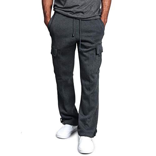 - MURTIAL Mens Cargo Pants Scrub Pants for Women Snowboard Pants Leather Pants Pants for Men Pant Snow Pants Womens Dark Gray