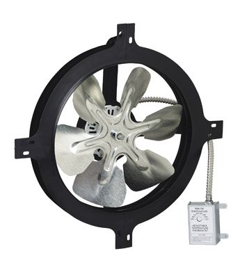 (Air Vent Mount Power INC. 53319 Gable Attic Ventilator )