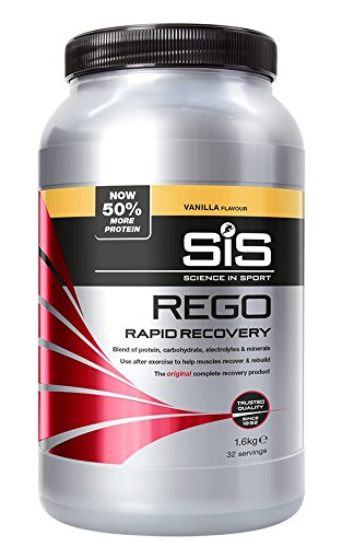 (Sis REGO Rapid Recovery 1.6Kg Sports Fuel Drink Powder - Vanilla)