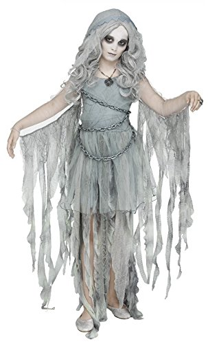 Fun World Enchanted Ghost Childrens Costume, Large, Multicolor -