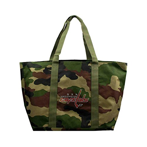 NHL Washington Capitals Camo Tote (Washington Capitals Merchandise)