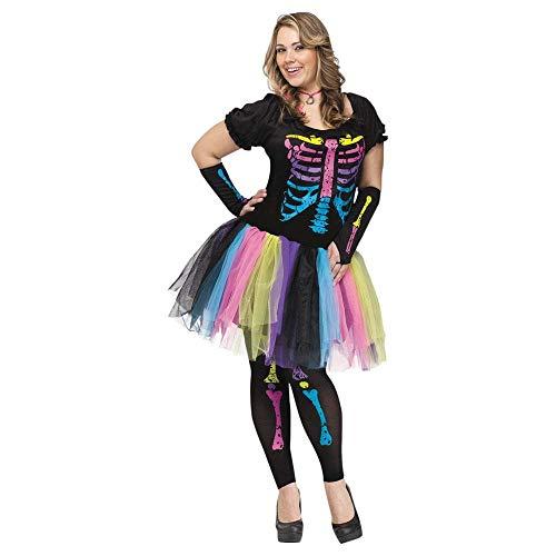 Funky Punk Bones Plus Size Costume