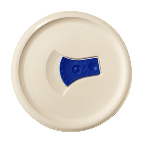 Corningware French White 24-oz Plastic Cover with Blue Vent